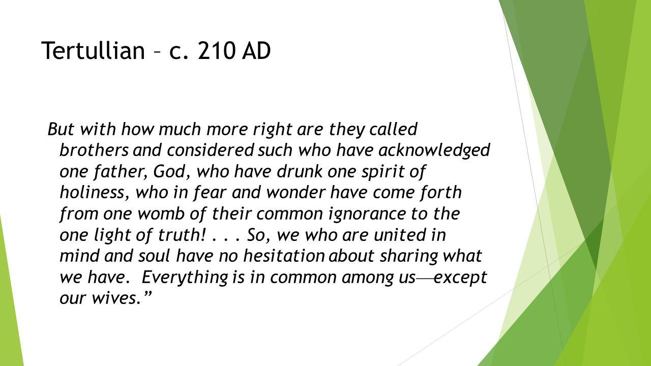 Tertullian – c.