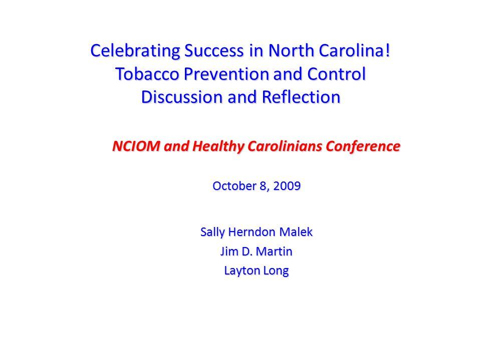 Celebrating Success in North Carolina!?.