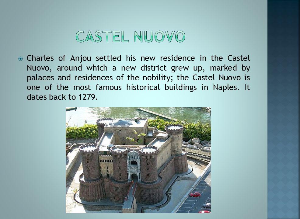 Many of the major landmarks of the city are also quite visible: Santa Chiara, San Domenico Maggiore, San Lorenzo, etc.