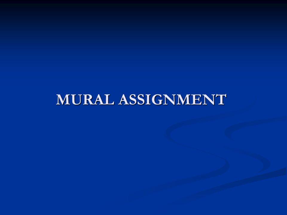 MURAL ASSIGNMENT