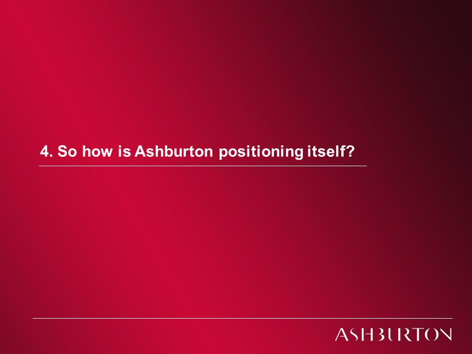 Jersey Investment Briefings - November 2010 Ashburton Investment Models 4.