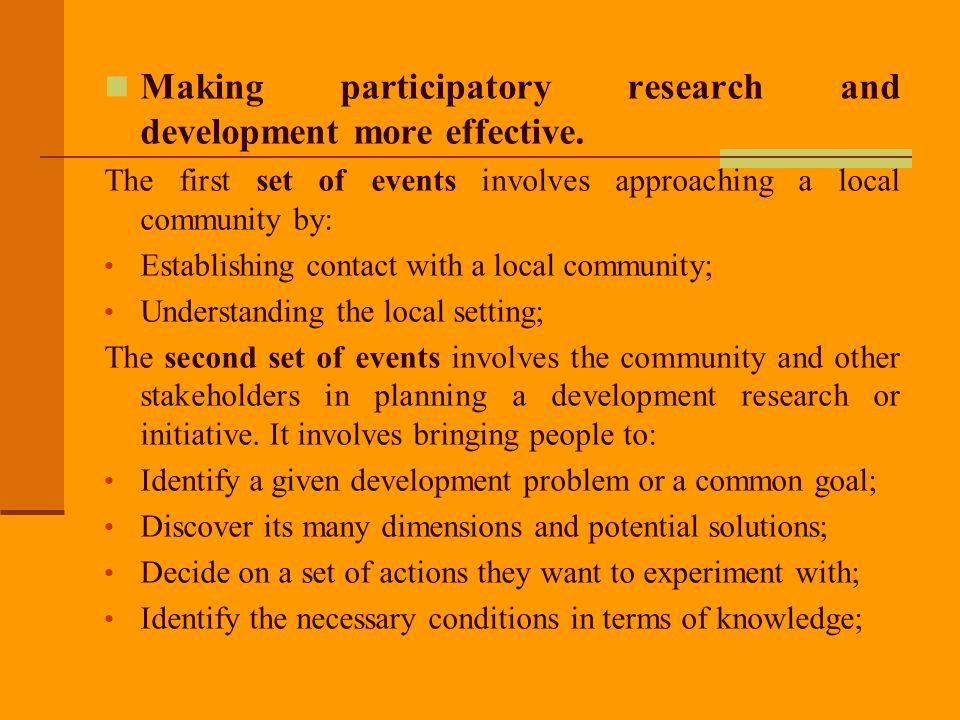 Step 7: Facilitating partnerships Facilitating collaboration and partnerships.