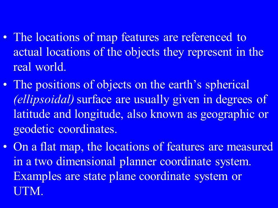 Horizontal Reference {Based on Ellipsoids}
