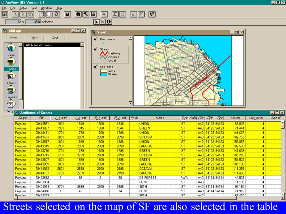 Differences between Spatial Data and Simple Vector Graphics or Images What is the difference between spatial data and a scanned image or a CAD file??