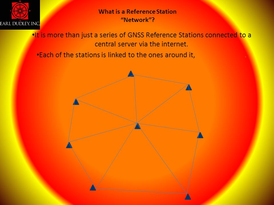 It is more than just a series of GNSS Reference Stations connected to a central server via the internet. Each of the stations is linked to the ones ar