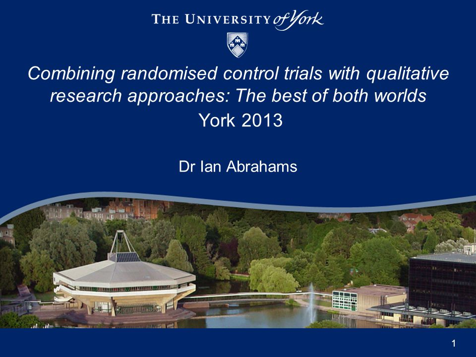 Whilst randomised control trials (RCTs) are designed to find differences between different groups they do not adequately explain the 'how' and/or 'why' those differences occur.