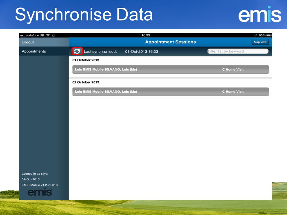 Synchronise Data