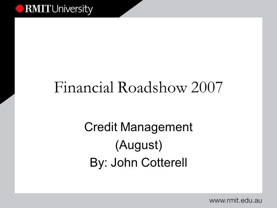 RMIT UniversitySlide 12 Account Blocked ( See Tick)