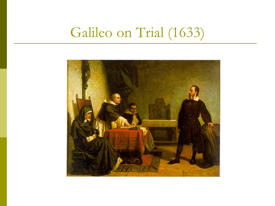 Galileo on Trial (1633)