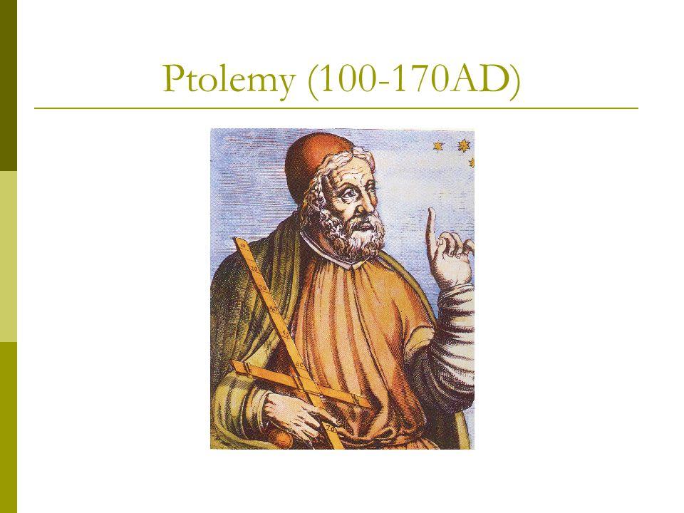 Ptolemy (100-170AD)