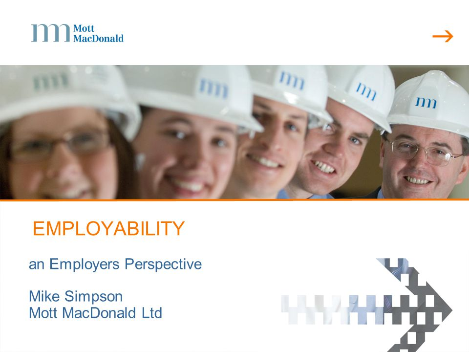  Introduction  overview of the Mott MacDonald Graduate recruitment process  skills and competencies  some examples  some conclusions  questions
