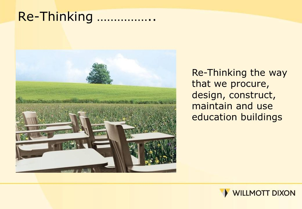 Re-Thinking ……………..
