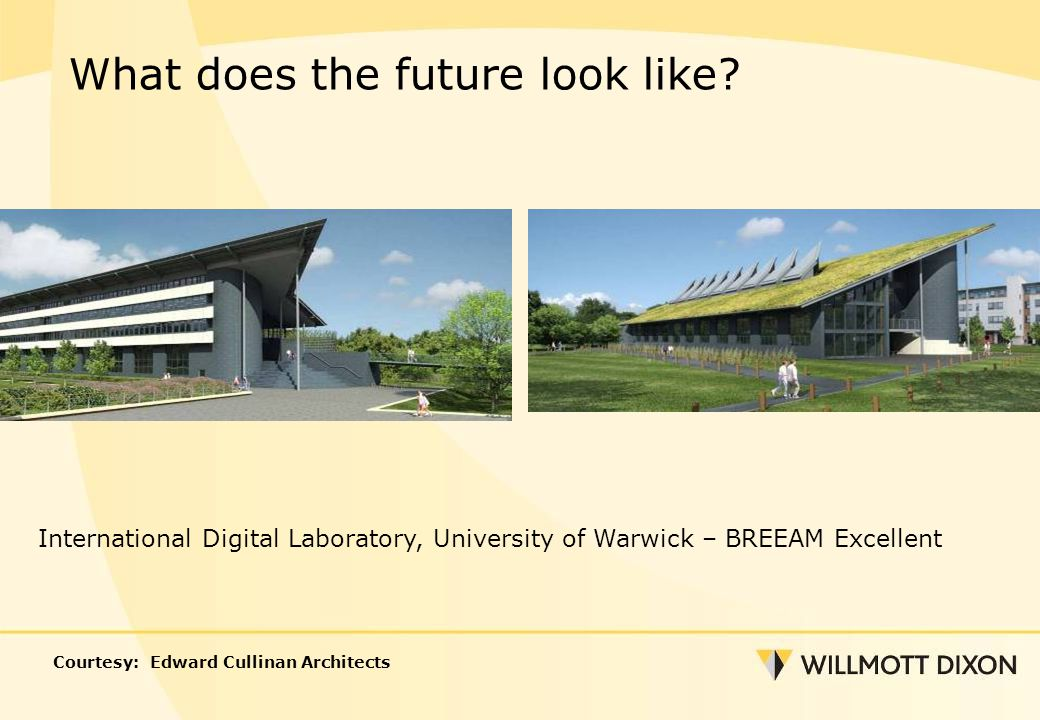 International Digital Laboratory, University of Warwick – BREEAM Excellent What does the future look like.