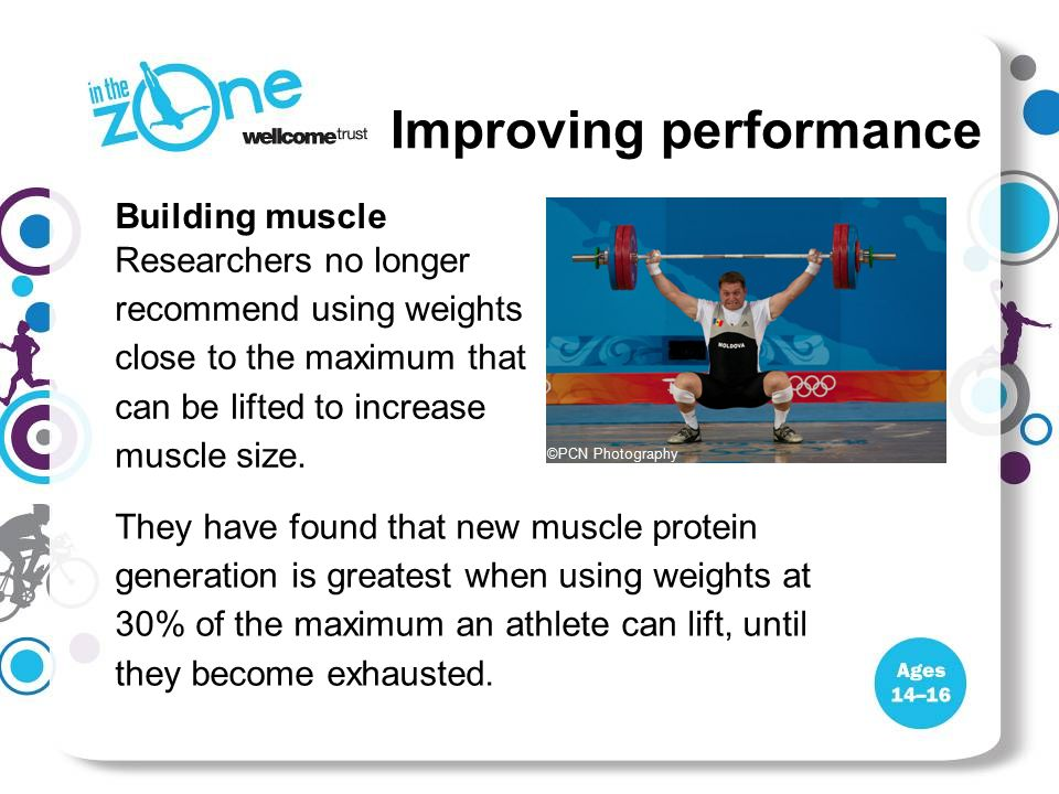 Researchers no longer recommend using weights close to the maximum that can be lifted to increase muscle size.