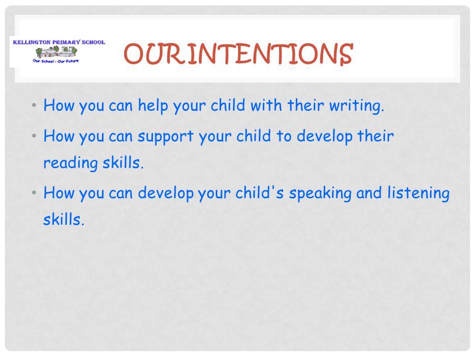 KELLINGTON PRIMARY SCHOOL Literacy Parent Workshop November 2012