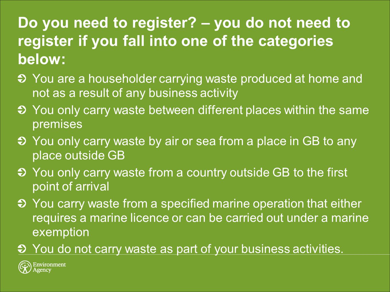 Do you need to register.