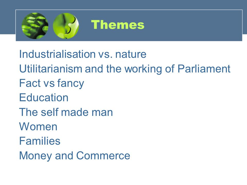 Themes Industrialisation vs.