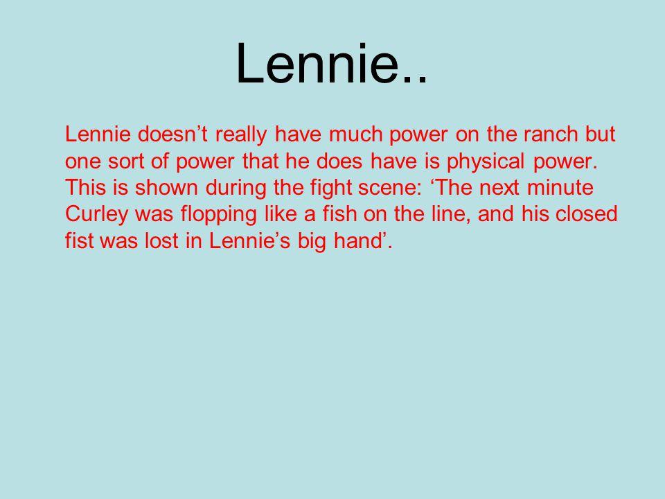 Lennie..