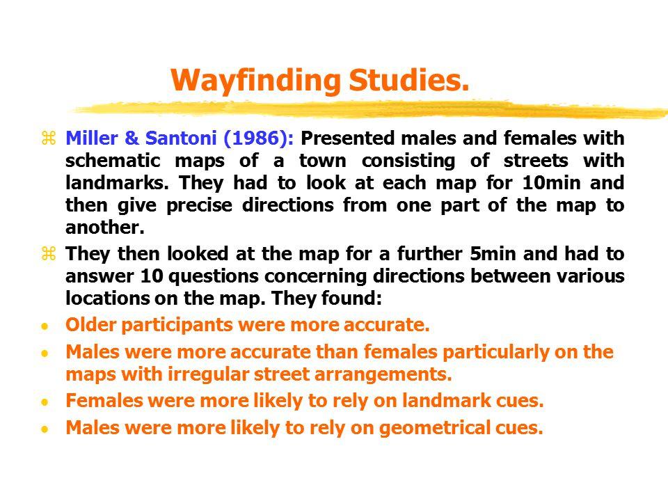 Wayfinding Studies.