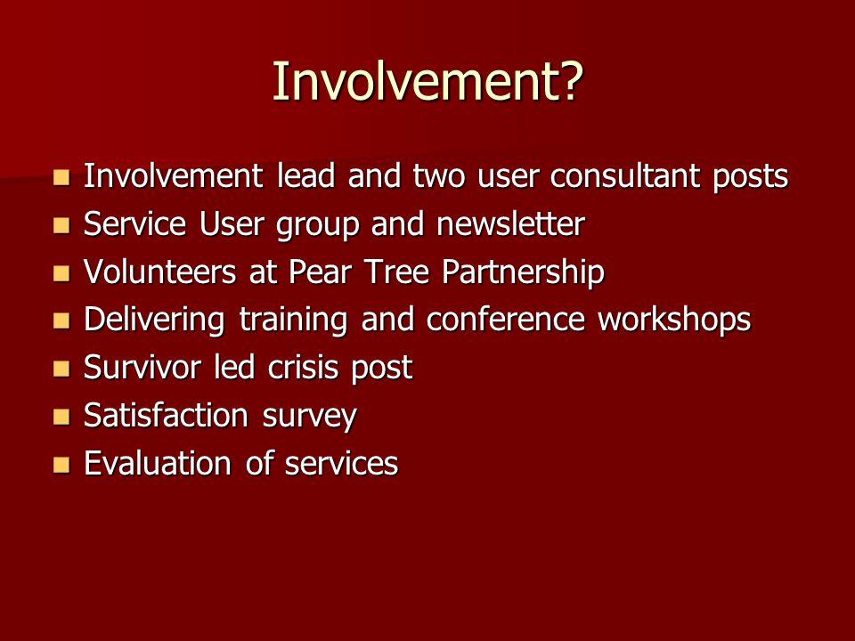 Involvement.