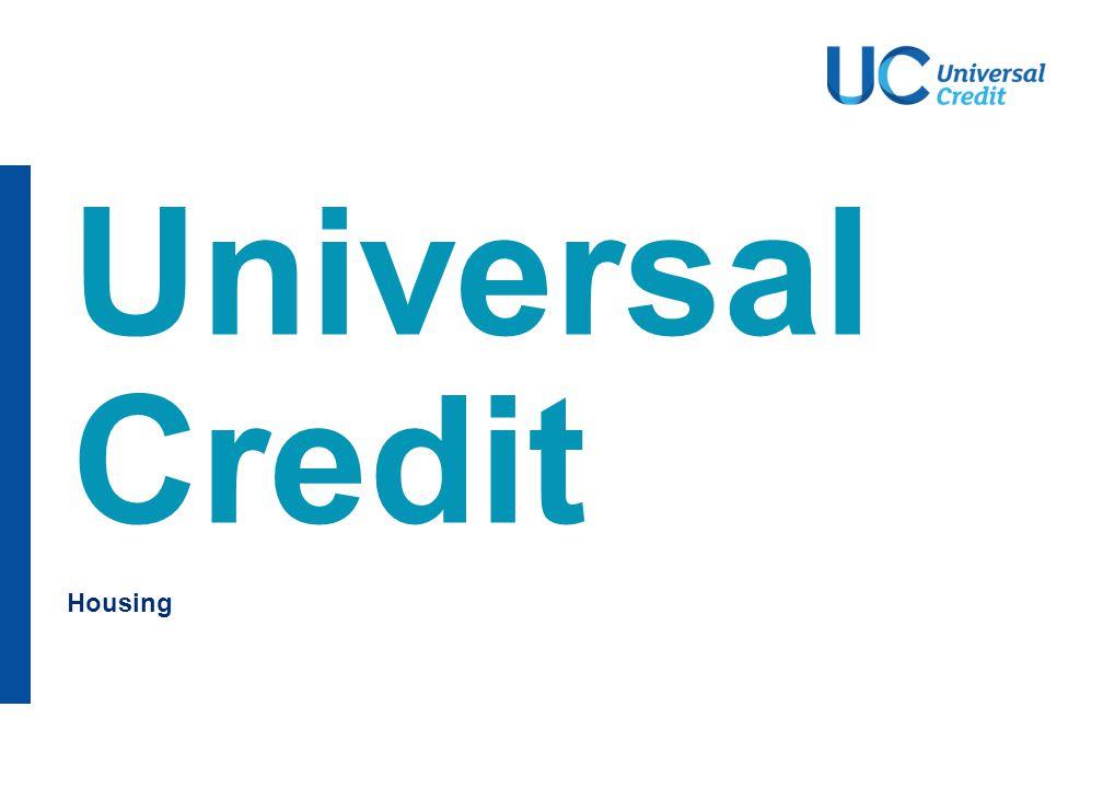 Housing Universal Credit