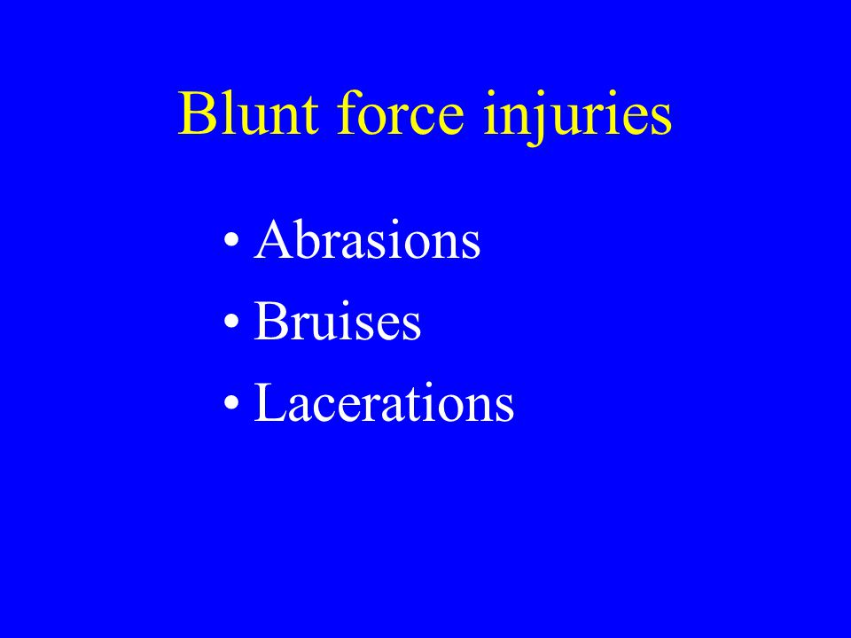 These are wounds where the depth of injury is greater than the length.