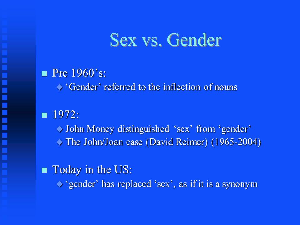 Sex vs.