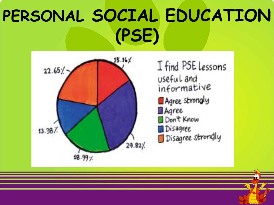 PERSONAL SOCIAL EDUCATION (PSE)