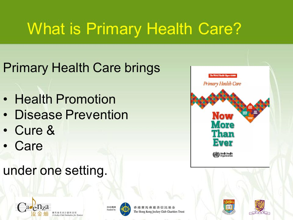 What is Primary Health Care.