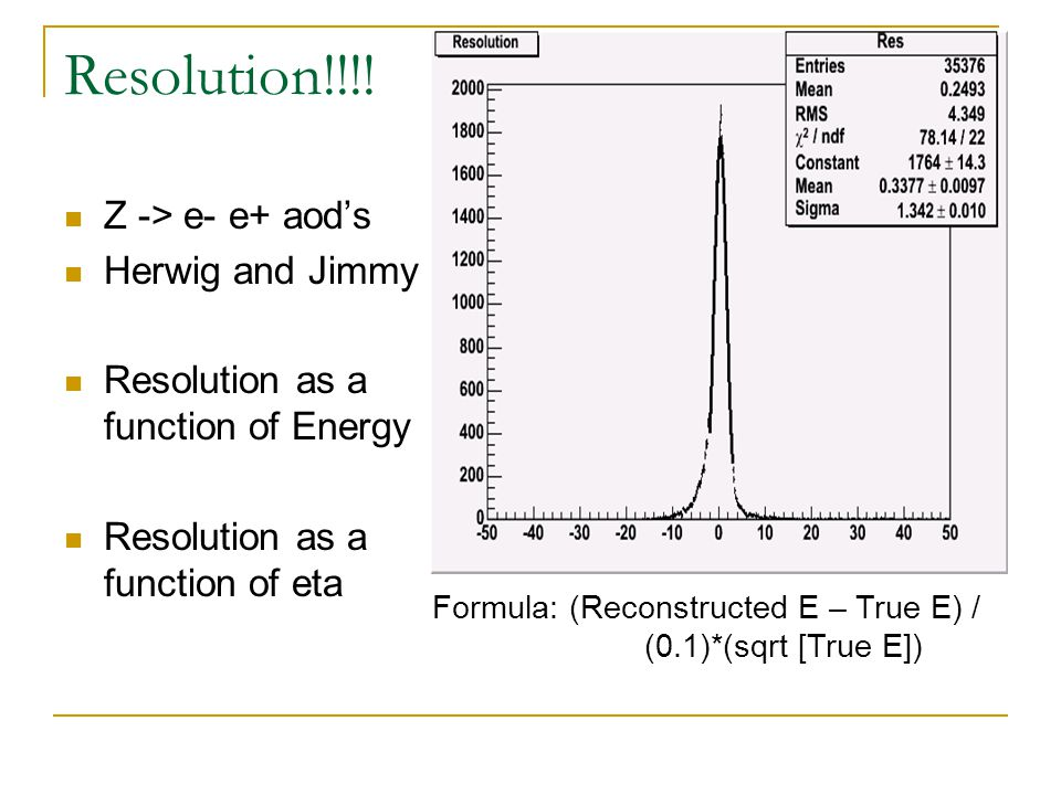 Minimizing Background electrons First Reduction by Etcone < 10GeV Secondly: 1.8 < E/P < 1.4 Cut selection minimizes background whilst keeping signal efficiency as high as possible.