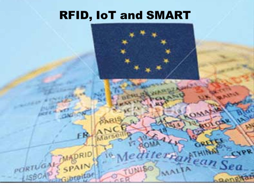 RFID, IoT and SMART