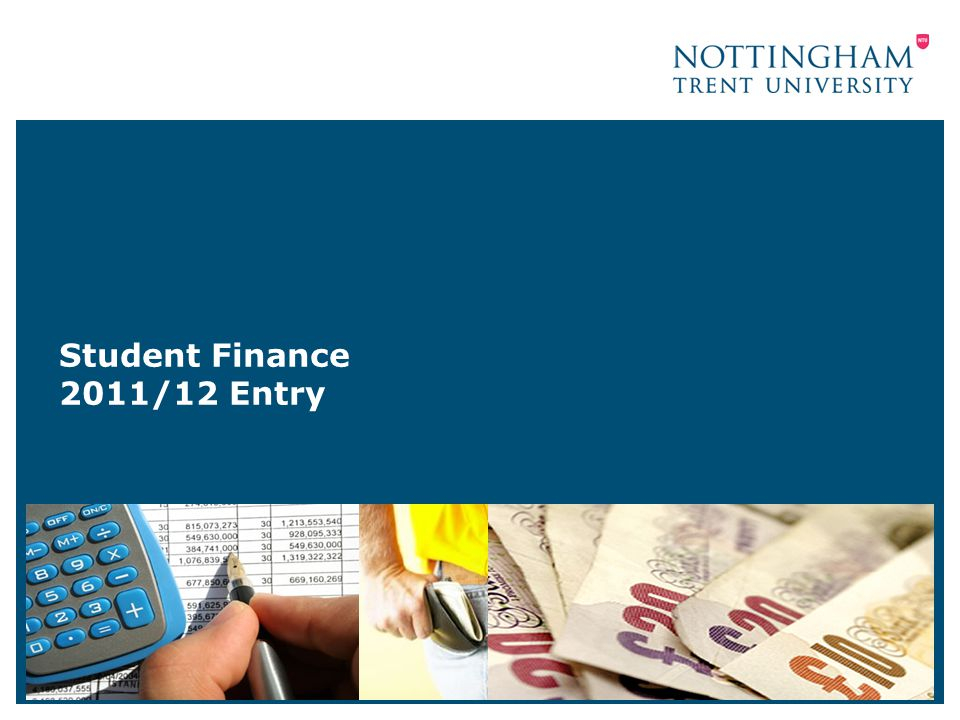 Student Finance 2011/12 Entry