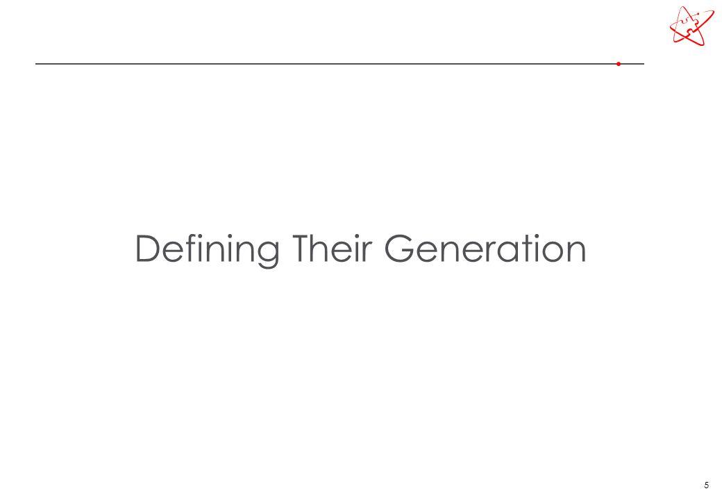 5 Defining Their Generation