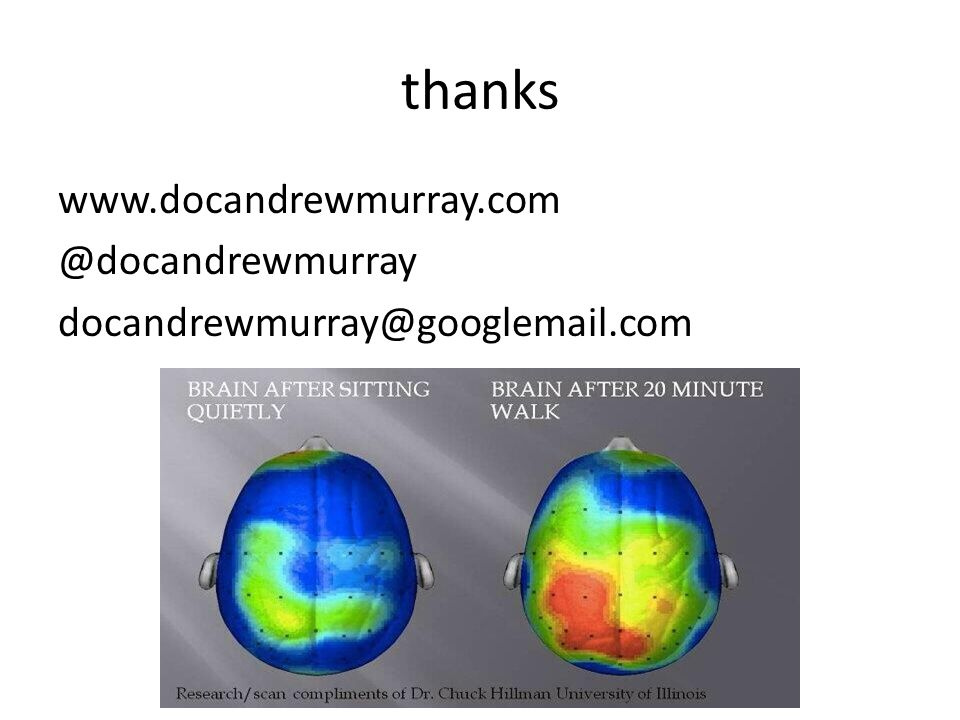 thanks www.docandrewmurray.com @docandrewmurray docandrewmurray@googlemail.com