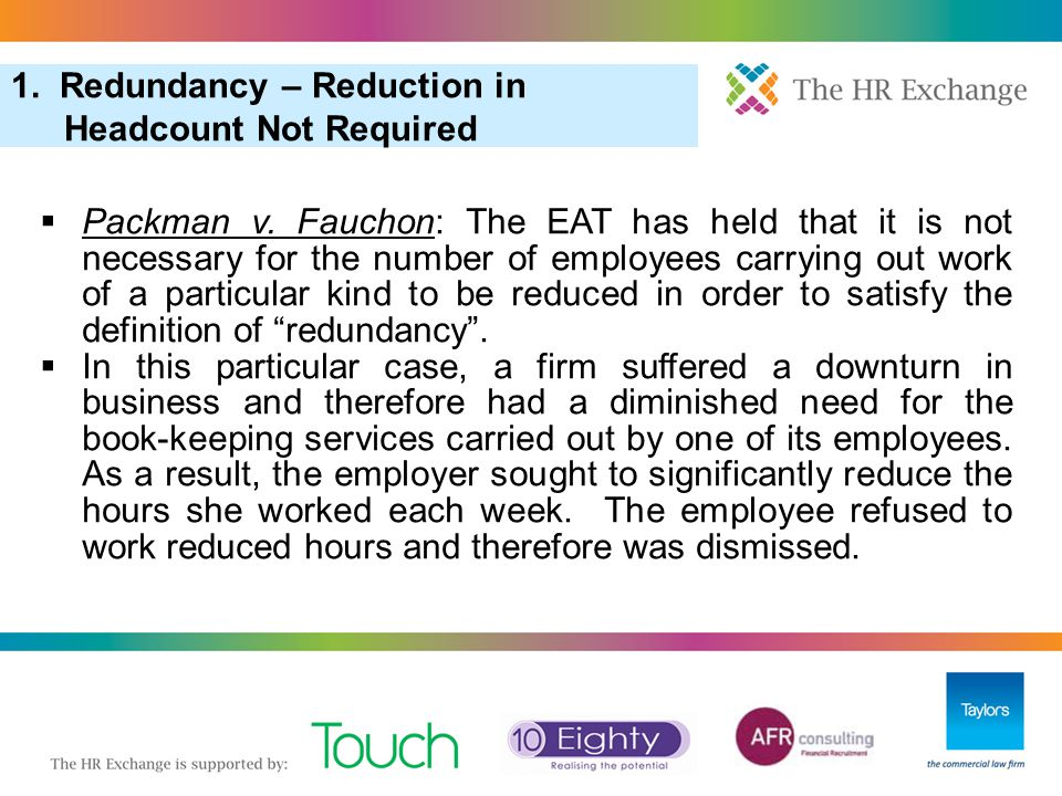 3. Pool of One in Redundancy Selection 6. More Redundancy: Redundancy Scoring (Cont) 12.