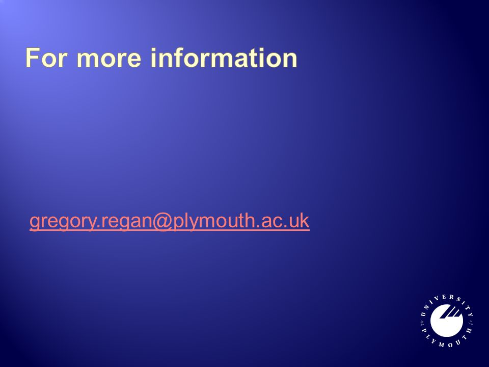 gregory.regan@plymouth.ac.uk
