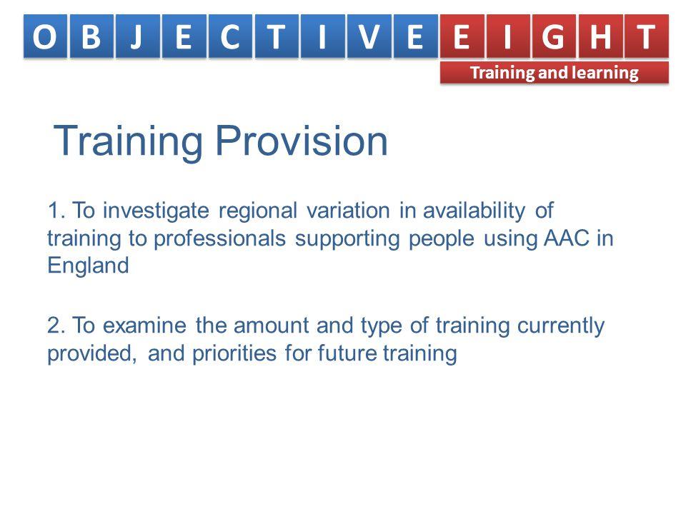 Training Provision 1.