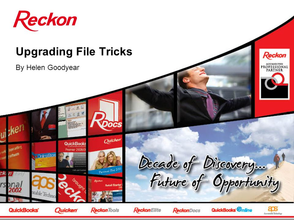 Upgrading File Tricks By Helen Goodyear