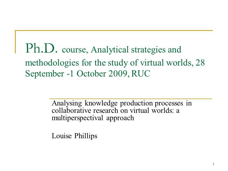 1 Ph.D.