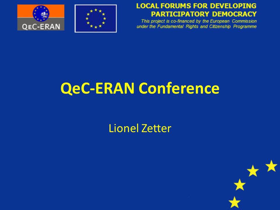 QeC-ERAN Conference Lionel Zetter