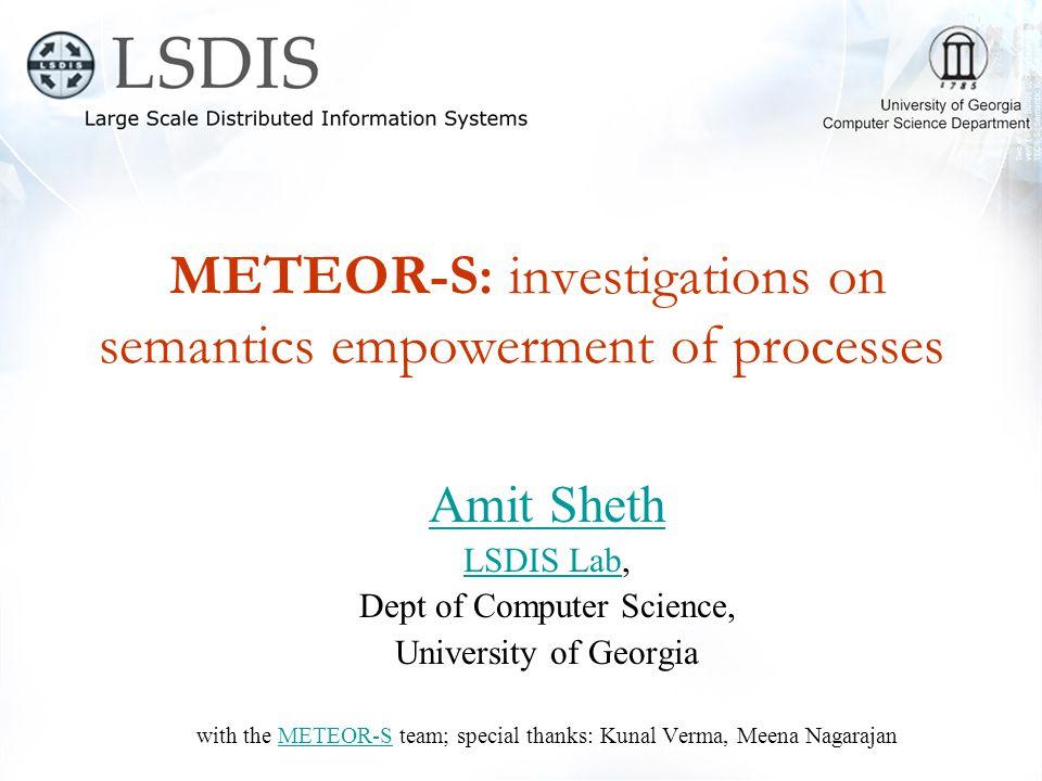 Publications Semantic Web Service Discovery –K.Verma, K.
