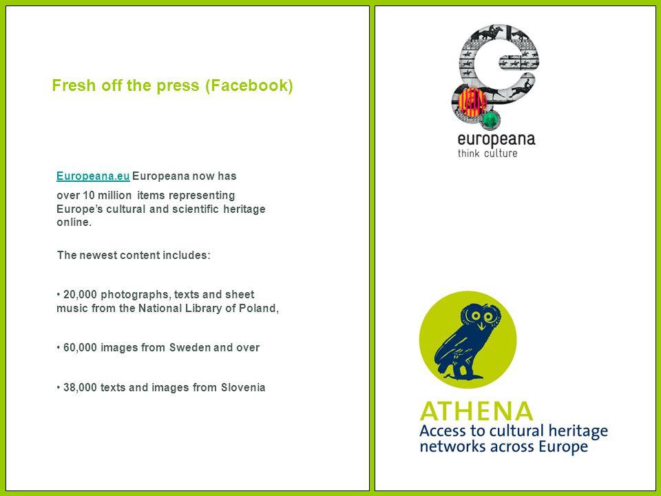 Europeana.euEuropeana.eu Europeana now has over 10 million items representing Europe's cultural and scientific heritage online.