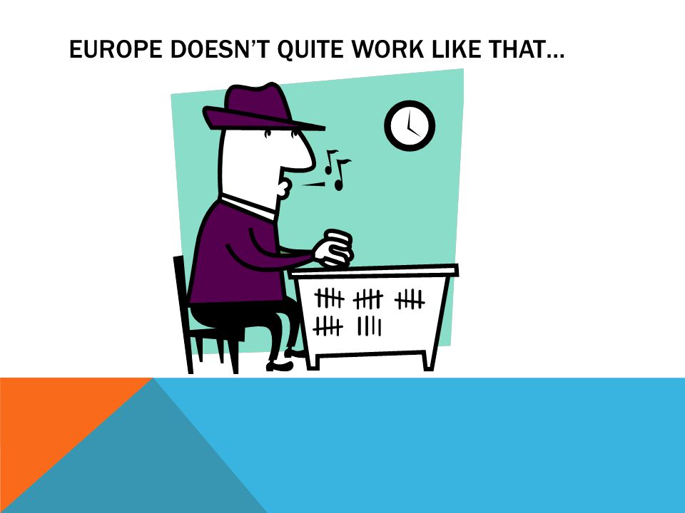 YET EUROPE'S STATED AIM IS TO BETTER CONNECT WITH PEOPLE… AND WITH NON-PROFIT ORGANISATIONS EUROPE IS AWARE ITS AN UPHILL BATTLE