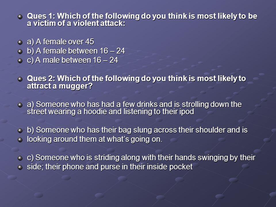 Dealing with Aggressive Behaviour Ques 29.