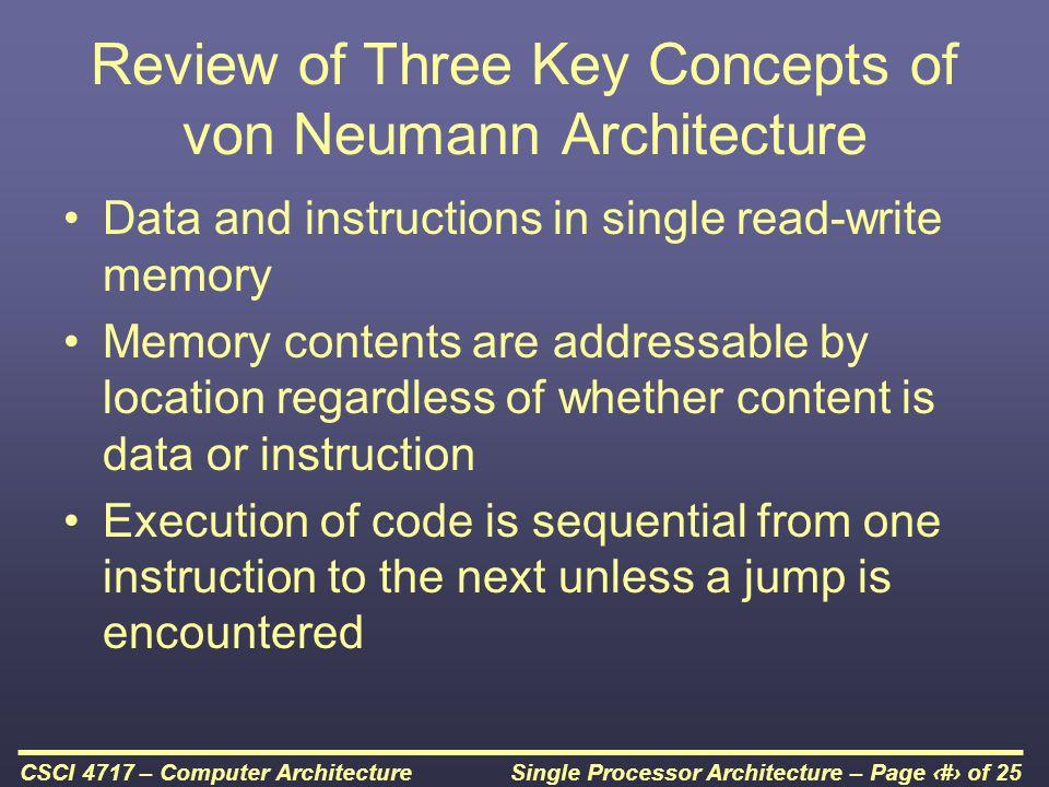 Single Processor Architecture – Page 23 of 25CSCI 4717 – Computer Architecture Multiple Interrupts – Nested