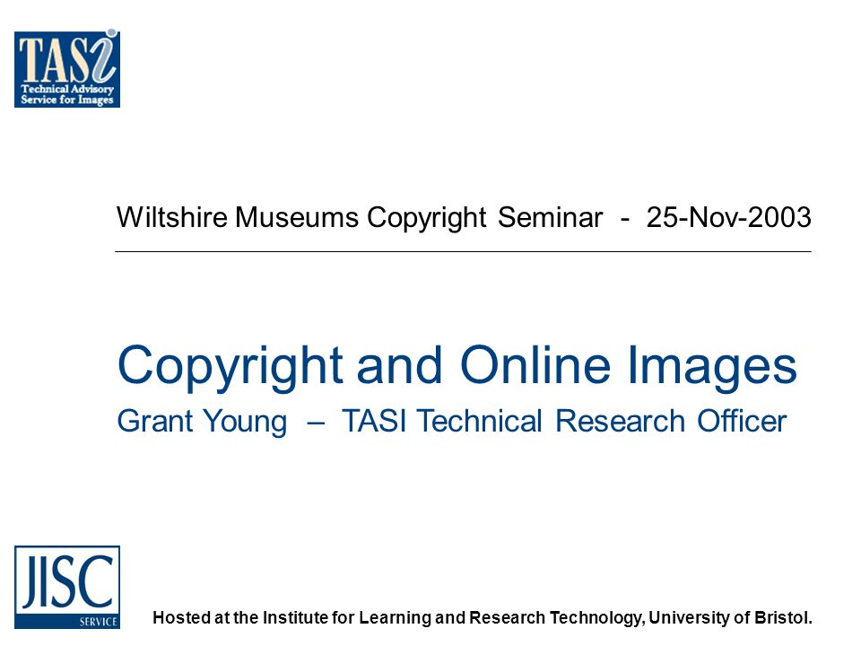 Hosted at the Institute for Learning and Research Technology, University of Bristol.