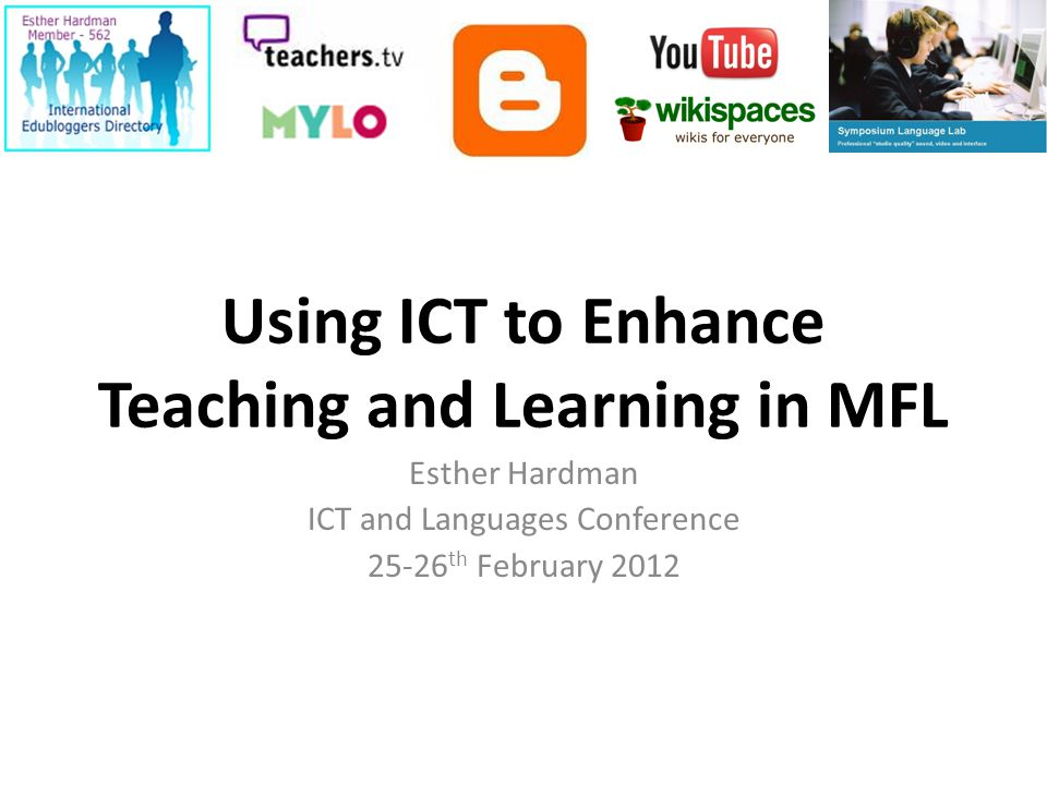 Contents Why develop ICT at your school.