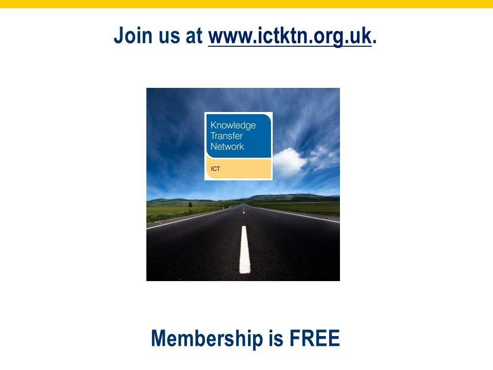 Join us at www.ictktn.org.uk.www.ictktn.org.uk Membership is FREE