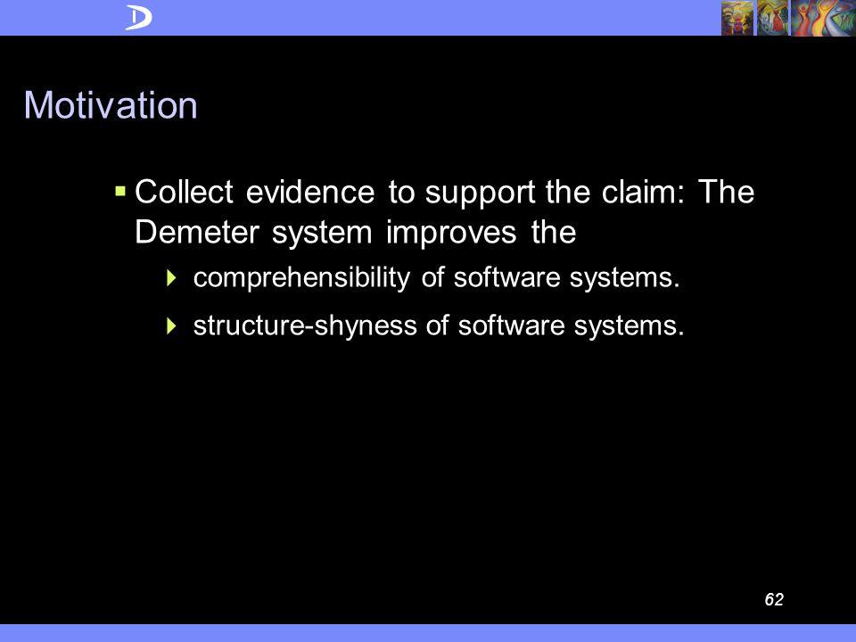 61 An Empirical Study of the Demeter System Pengcheng Wu and Mitchell Wand Northeastern University AOSD 04, SPLAT Workshop