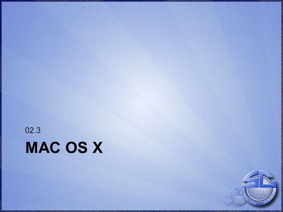 MAC OS X 02.3